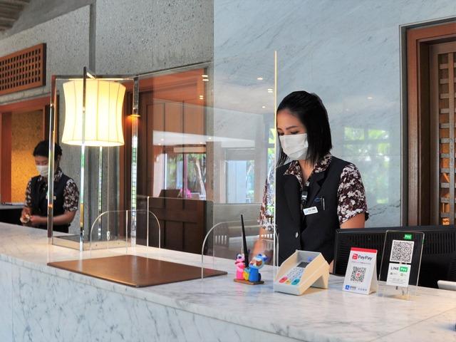 オクマ プライベートビーチ & リゾート ホテル内の感染症予防対策